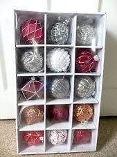 martha stewart glass ornaments ebay