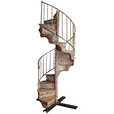 Vintage Handrail Stair Fetching Vintage Iron Spiral Staircase For Home Decoration
