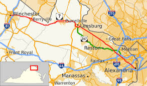 Zip Code Map Richmond Va by Virginia State Route 7 Wikipedia