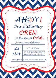 birthday party rsvp a navy blue nautical 1st birthday party my practical birthday guide