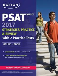 buy psat nmsqt 2017 strategies practice u0026 review with 2 practice
