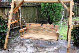 Swing Bench Plans Bench Porch Bed Swings Awesome Wooden Swing Bench Covered Patio