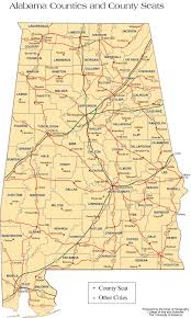 Map Of Florida And Alabama by Alabama Outline Maps And Map Links