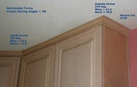 how to add crown moulding to cabinets installing crown molding on kitchen cabinets