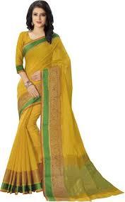 Buy Green Plain Cotton Silk Buy Saara Plain Floral Print Printed Maheshwari Cotton Silk