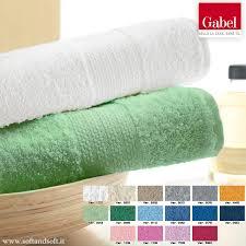 tappeti bagno gabel vendita telo bagno in spugna di cotone tinta unita