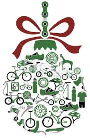 vector illustration of ornament with bikes and bike