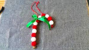 how to make needle felted christmas ornament sugar cane feltify