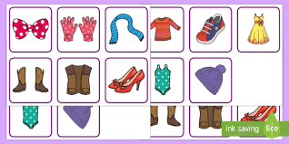 memory clothes clothes pairs matching memory small activity