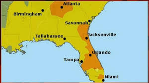 Miami Orlando Map by Air Quality Warning Issued For Several Florida Counties