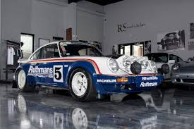 porsche rothmans 1984 porsche 911 scrs rothmans unrestored sold road scholars