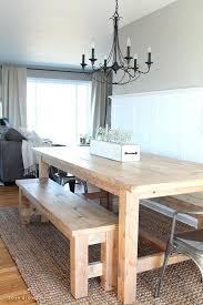 Rustic Farmhouse Dining Tables Rustic Farmhouse Dining Table With Bench U2013 Amarillobrewing Co