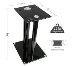 amazon com vivo premium universal floor speaker stands dual