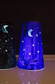 kid craft easy diy nightlights from a foam cup