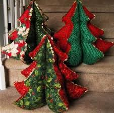 love these stuffed fabric christmas trees hopefully will be able