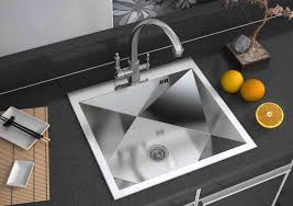 white sink black countertop contemporary stainless kitchen sink for elegant kitchen fixtures