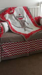 Monkey Baby Bedding For Boys Best 25 Sock Monkey Nursery Ideas Only On Pinterest Monkey Room