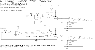 wiring diagram 3 way active crossover schematic diagram wiring 3