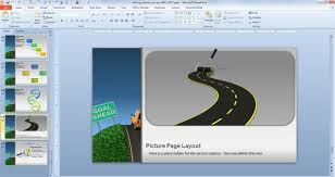 traffic u0026 road templates for powerpoint presentations