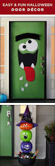 Make At Home Halloween Decorations by Top 25 Best Halloween Door Decorations Ideas On Pinterest