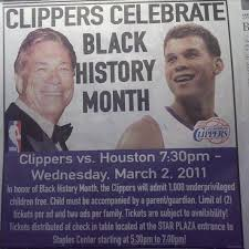 Funny Black History Month Memes - donald sterling s black history month ad raises eyebrows