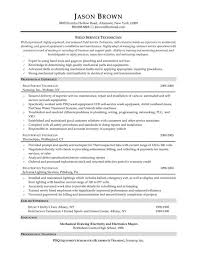Field Service Technician Resume Examples by Resume Most Effective Resume Templates Free Job Resume Office