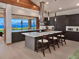 kitchen pass through designs vaulted ceilings pass through vent over islcounter stools modern