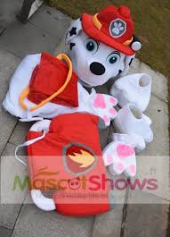 Mascot Costumes Halloween Paw Patrol Marshall Mascot Costume Suit Cartoon Character