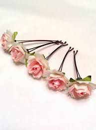 flowers for hair best 25 flower hair accessories ideas on bridesmaid