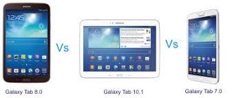 android tablet comparison samsung galaxy tab 3 7 0 vs tab 3 8 0 vs tab3 10 1 tab 3 series