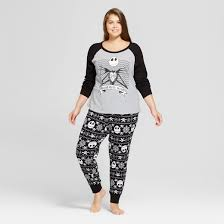 s disney plus size nightmare before 2pc thermal