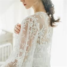 wedding peignoir sets lace nightgowns sleepshirts white robes set bathrobe sets