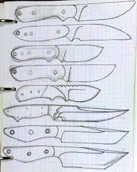 knife patterns knife designs silent version youtube