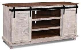 Media Console With Hutch Westgate White 66