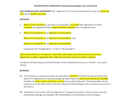 free non disclosure agreement template uk shareholders agreement template uk template agreements and shareholders agreement template