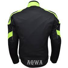 green motorcycle jacket mens motorcycle motorbike waterproof jacket black green
