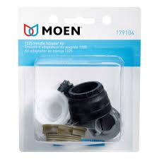 moen kitchen faucet handle repair moen handle adapter kit 179104 faucet handles ace hardware