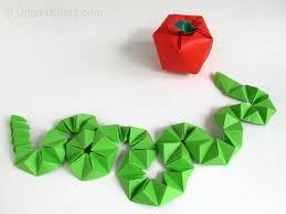 Origami Snake - origami origami snake to make a snake
