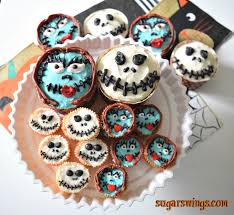 nightmare before christmas cupcake toppers sugar swings serve some the nightmare before christmas