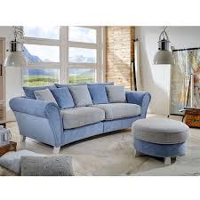 Schlafzimmer Hellblau Beige Big Sofa Jassina In Blau Beige Mit Kissen Pharao24 De