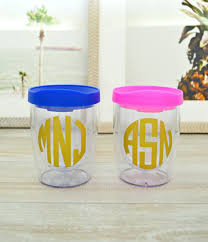 bridesmaid cups the 25 best wine tumblers ideas on diy glass etching