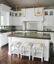 brass faucets kitchen sita montgomery interiors my home lighting update sita