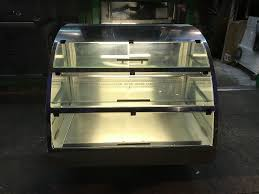 cuisine shop catering commercial counter top cold display fridge cafe shop