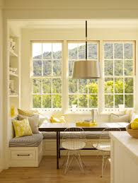 Kitchen Nook Decorating Ideas by Splendid Kitchen Bay Window Decorating Ideas Shades For Treatments