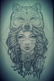 headdress wolf headdress