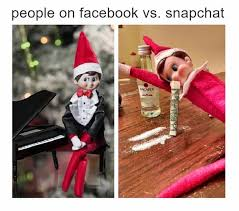 Snapchat Meme - epic pix â like 9gag â just funny â facebook vs snapchat