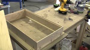 How To Build A Cabinet Box by How To Build A Recessed Cabinet Pt 2 Youtube
