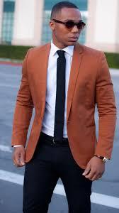 men u0027s tobacco blazer white dress shirt navy chinos navy tie