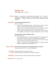 event coordinator resumes event coordinator resume sle with regard to event