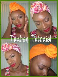 how to tie a turban scarf natural hair youtube